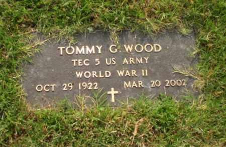 WOOD  (VETERAN WWII), TOMMY G - Greene County, Arkansas | TOMMY G WOOD  (VETERAN WWII) - Arkansas Gravestone Photos