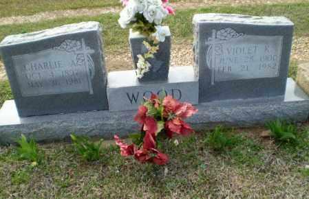 WOOD, VIOLET K - Greene County, Arkansas   VIOLET K WOOD - Arkansas Gravestone Photos