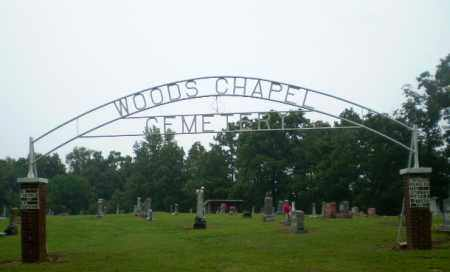 *WOODS CHAPEL CEMETERY SIGN,  - Greene County, Arkansas |  *WOODS CHAPEL CEMETERY SIGN - Arkansas Gravestone Photos