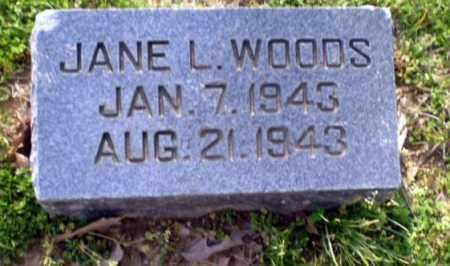 WOODS, JANE L - Greene County, Arkansas   JANE L WOODS - Arkansas Gravestone Photos