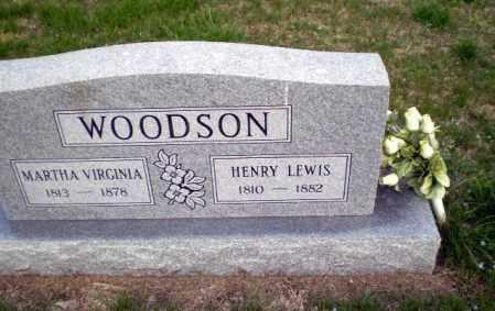 WOODSON, MARTHA VIRGINIA - Greene County, Arkansas | MARTHA VIRGINIA WOODSON - Arkansas Gravestone Photos