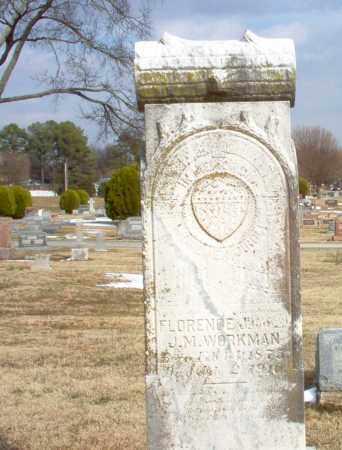 WORKMAN, FLORENCE - Greene County, Arkansas | FLORENCE WORKMAN - Arkansas Gravestone Photos
