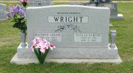 WRIGHT, MILDRED LOUISE - Greene County, Arkansas | MILDRED LOUISE WRIGHT - Arkansas Gravestone Photos