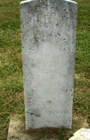 YARBROUGH, HOLLAND - Greene County, Arkansas | HOLLAND YARBROUGH - Arkansas Gravestone Photos