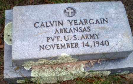 YEARGAIN (VETERAN), CALVIN - Greene County, Arkansas | CALVIN YEARGAIN (VETERAN) - Arkansas Gravestone Photos
