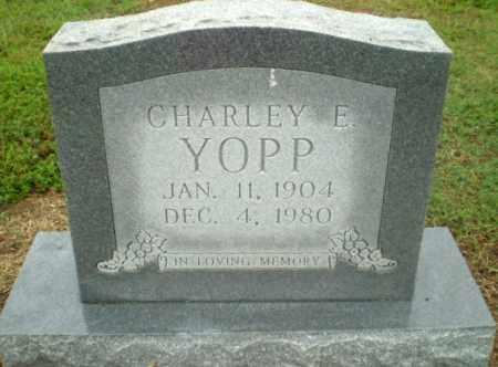 YOPP, CHARLEY E - Greene County, Arkansas | CHARLEY E YOPP - Arkansas Gravestone Photos