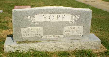 YOPP, G. HANCEL - Greene County, Arkansas | G. HANCEL YOPP - Arkansas Gravestone Photos