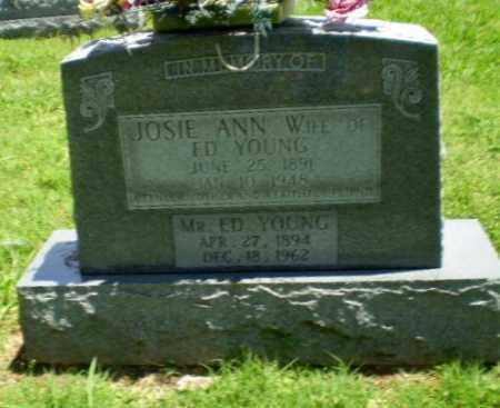 YOUNG, JOSIE ANN - Greene County, Arkansas   JOSIE ANN YOUNG - Arkansas Gravestone Photos