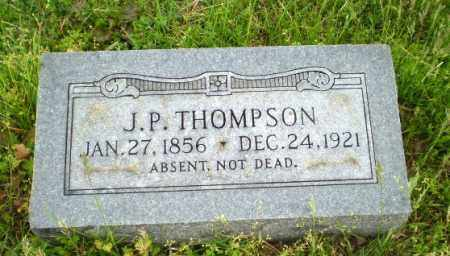 THOMPSON, J.P. - Greene County, Arkansas | J.P. THOMPSON - Arkansas Gravestone Photos