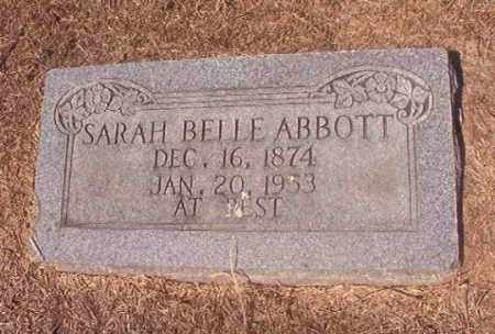 ABBOTT, SARAH BELLE - Hempstead County, Arkansas | SARAH BELLE ABBOTT - Arkansas Gravestone Photos