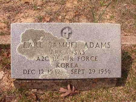 ADAMS (VETERAN KOR), EARL SAMUEL - Hempstead County, Arkansas   EARL SAMUEL ADAMS (VETERAN KOR) - Arkansas Gravestone Photos