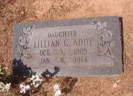 ADDY, LILLIAN G - Hempstead County, Arkansas | LILLIAN G ADDY - Arkansas Gravestone Photos