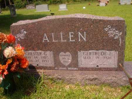 ALLEN, CHESTER G - Hempstead County, Arkansas   CHESTER G ALLEN - Arkansas Gravestone Photos