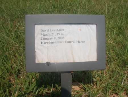 ALLEN, DAVID LEE - Hempstead County, Arkansas | DAVID LEE ALLEN - Arkansas Gravestone Photos