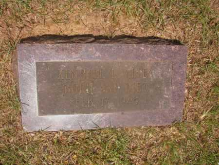 ALLEN, KENDALL L - Hempstead County, Arkansas | KENDALL L ALLEN - Arkansas Gravestone Photos