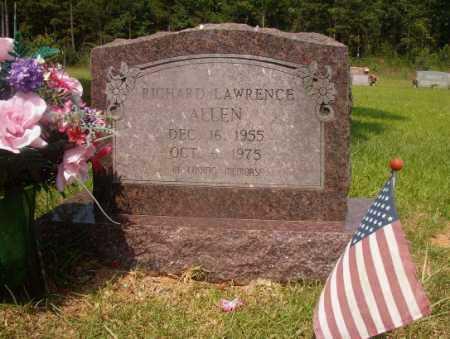 ALLEN, RICHARD LAWRENCE - Hempstead County, Arkansas   RICHARD LAWRENCE ALLEN - Arkansas Gravestone Photos