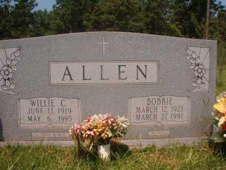 ALLEN, WILLIE C - Hempstead County, Arkansas   WILLIE C ALLEN - Arkansas Gravestone Photos