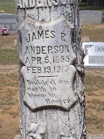 ANDERSON, JAMES R. (CLOSEUP) - Hempstead County, Arkansas | JAMES R. (CLOSEUP) ANDERSON - Arkansas Gravestone Photos