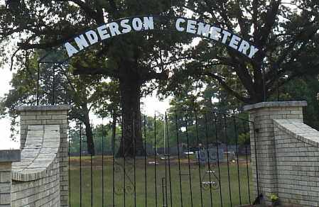 *ANDERSON CEMETERY GATE,  - Hempstead County, Arkansas |  *ANDERSON CEMETERY GATE - Arkansas Gravestone Photos