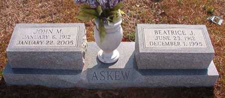ASKEW, BEATRICE J - Hempstead County, Arkansas | BEATRICE J ASKEW - Arkansas Gravestone Photos