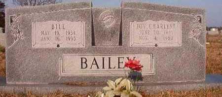 BAILEY, BILL - Hempstead County, Arkansas | BILL BAILEY - Arkansas Gravestone Photos