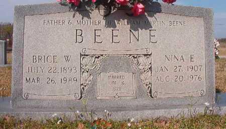 BEENE, BRICE W - Hempstead County, Arkansas   BRICE W BEENE - Arkansas Gravestone Photos