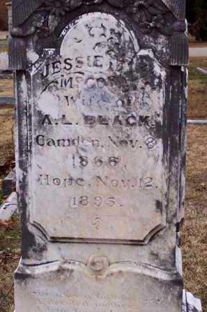 MCCORKLE BLACK, JESSIE - Hempstead County, Arkansas | JESSIE MCCORKLE BLACK - Arkansas Gravestone Photos
