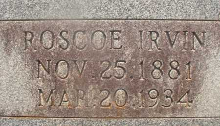 BLANDING, ROSCOE IRVIN (CLOSEUP) - Hempstead County, Arkansas | ROSCOE IRVIN (CLOSEUP) BLANDING - Arkansas Gravestone Photos
