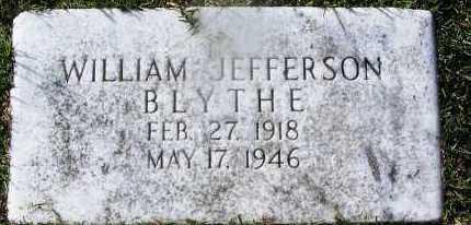 BLYTHE, WILIAM JEFFERSON - Hempstead County, Arkansas | WILIAM JEFFERSON BLYTHE - Arkansas Gravestone Photos