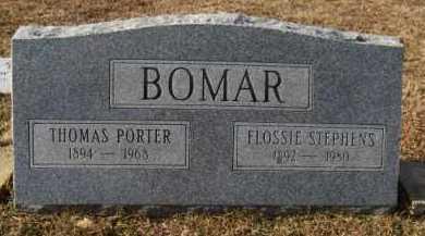 STEPHENS BOMAR, FLOSSIE - Hempstead County, Arkansas | FLOSSIE STEPHENS BOMAR - Arkansas Gravestone Photos
