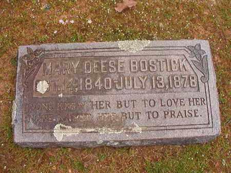 BOSTICK, MARY - Hempstead County, Arkansas | MARY BOSTICK - Arkansas Gravestone Photos