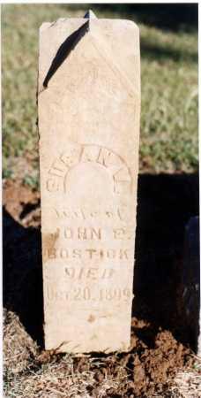 BOSTICK, SUSAN V - Hempstead County, Arkansas   SUSAN V BOSTICK - Arkansas Gravestone Photos