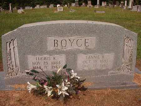 BOYCE, LUCIUS K - Hempstead County, Arkansas | LUCIUS K BOYCE - Arkansas Gravestone Photos