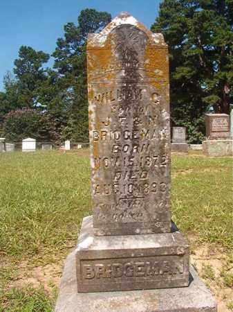 BRIDGEMAN, WILLIAM C - Hempstead County, Arkansas | WILLIAM C BRIDGEMAN - Arkansas Gravestone Photos