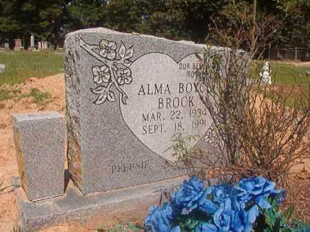"BROCK, ALMA ""PEEPSIE"" - Hempstead County, Arkansas | ALMA ""PEEPSIE"" BROCK - Arkansas Gravestone Photos"