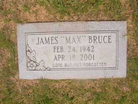 "BRUCE, JAMES ""MAX"" - Hempstead County, Arkansas | JAMES ""MAX"" BRUCE - Arkansas Gravestone Photos"