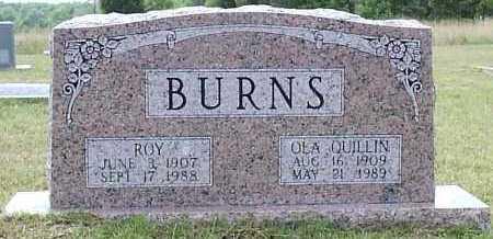 QUILLIN BURNS, OLA ESTELLE - Hempstead County, Arkansas | OLA ESTELLE QUILLIN BURNS - Arkansas Gravestone Photos