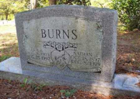 BURNS, NATHAN J - Hempstead County, Arkansas | NATHAN J BURNS - Arkansas Gravestone Photos