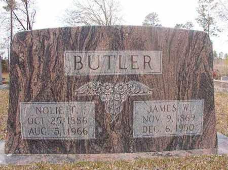 BUTLER, NOLIE T - Hempstead County, Arkansas | NOLIE T BUTLER - Arkansas Gravestone Photos