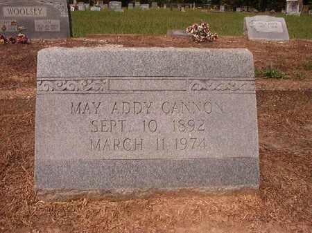 ADDY CANNON, MAY - Hempstead County, Arkansas | MAY ADDY CANNON - Arkansas Gravestone Photos