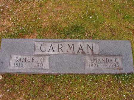 CARMAN, AMANDA C - Hempstead County, Arkansas | AMANDA C CARMAN - Arkansas Gravestone Photos