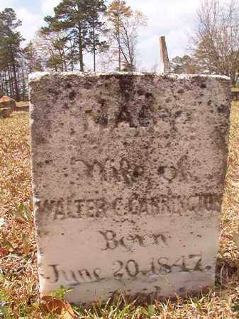 CARRINGTON, MARY - Hempstead County, Arkansas | MARY CARRINGTON - Arkansas Gravestone Photos