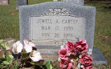CARTER, JEWELL A - Hempstead County, Arkansas   JEWELL A CARTER - Arkansas Gravestone Photos