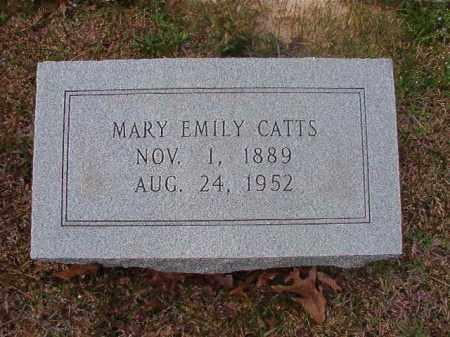 CATTS, MARY EMILY - Hempstead County, Arkansas   MARY EMILY CATTS - Arkansas Gravestone Photos