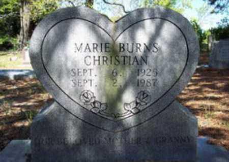 CHRISTIAN, MARIE - Hempstead County, Arkansas | MARIE CHRISTIAN - Arkansas Gravestone Photos