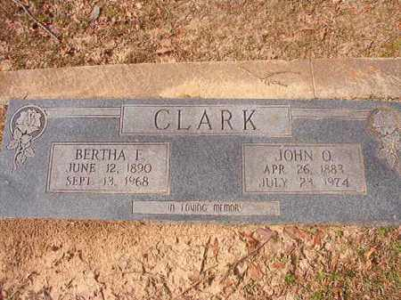 CLARK, JOHN O - Hempstead County, Arkansas | JOHN O CLARK - Arkansas Gravestone Photos