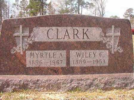 CLARK, WILEY C - Hempstead County, Arkansas | WILEY C CLARK - Arkansas Gravestone Photos