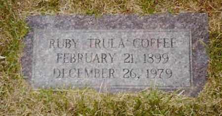 DUKE COFFEE, RUBY TRULA - Hempstead County, Arkansas | RUBY TRULA DUKE COFFEE - Arkansas Gravestone Photos