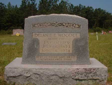 WOODUL COLLIER, DELANIE E - Hempstead County, Arkansas | DELANIE E WOODUL COLLIER - Arkansas Gravestone Photos