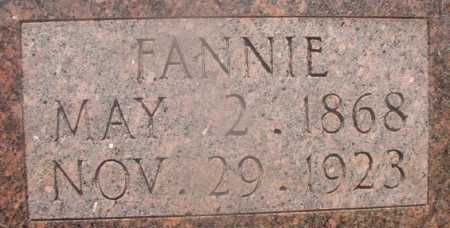 COLLIER, FANNIE (CLOSE UP) - Hempstead County, Arkansas | FANNIE (CLOSE UP) COLLIER - Arkansas Gravestone Photos